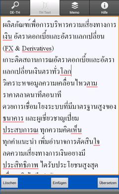 thailändisch lernen app